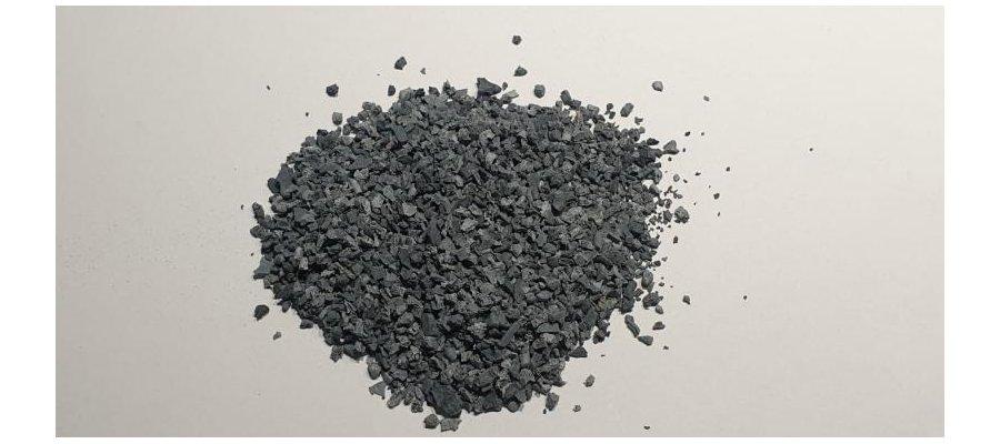Granulat Gumowy EPDM recykling Zielony / Szary - zdjęcie