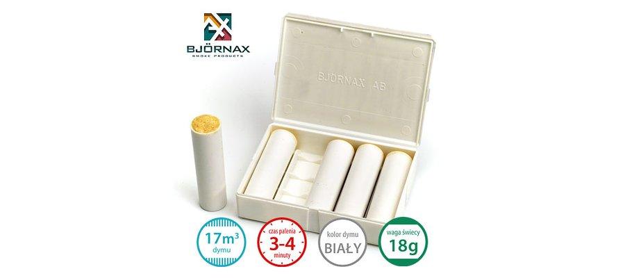 Świece dymne standardowe Bjornax Ventilax (5x18g) - zdjęcie