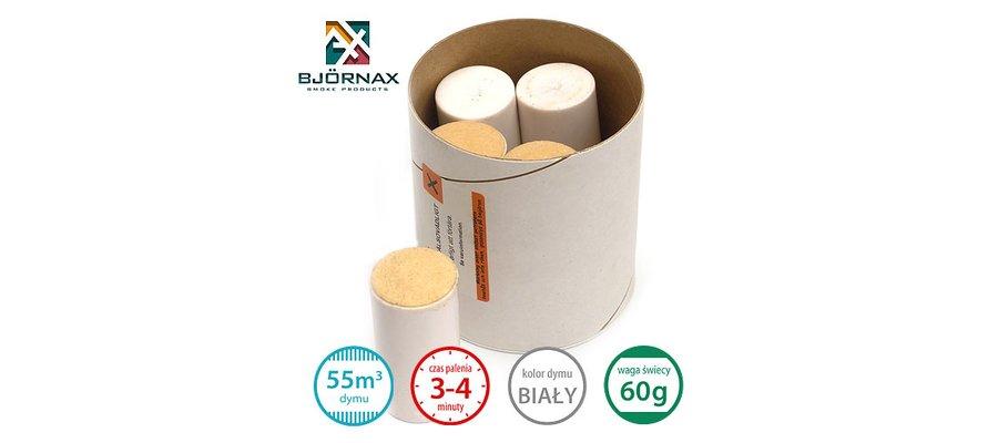 Świece dymne standardowe Bjornax Brandax VS (5x60g) - zdjęcie