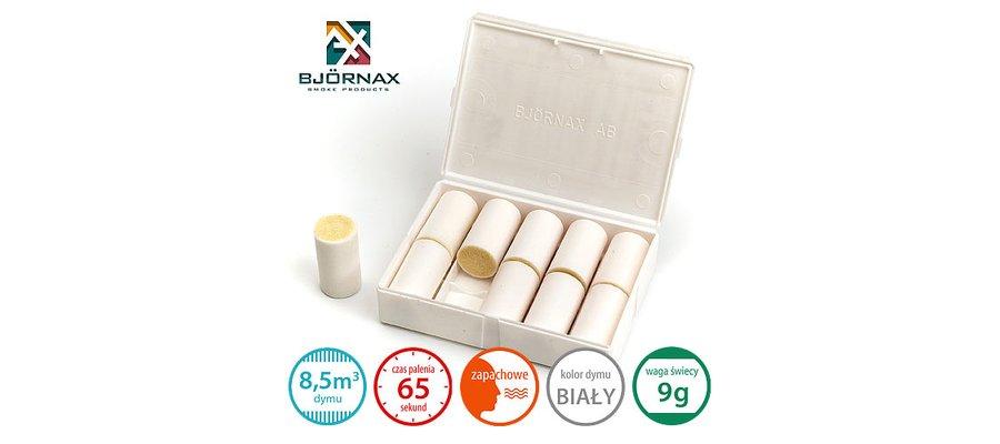Świece dymne zapachowe Bjornax Perfume AX-9 (10x9g) - zdjęcie