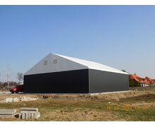 Budowa hal namiotowych i stalowych - hale Grzymała - zdjęcie