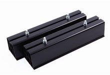 Wspornik klimatyzatora, mocowanie skraplacza, podstawa PVC 450 podłogowa czarna - zdjęcie