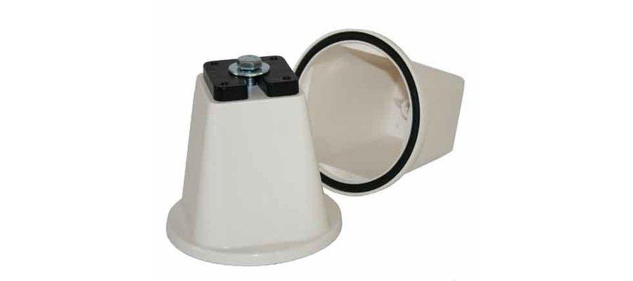 Wspornik, podstawa PVC 0501SC Artiplastic pojedyncza pod jednostkę zewnętrzną - zdjęcie