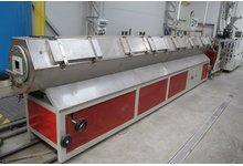 Linia   do produkcji rur  z  PE  od  1500-3000mm z wytłaczarką  jednoślimakową PSM80  - zdjęcie