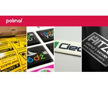 Produkcja naklejek i oznakowań z logo - zdjęcie