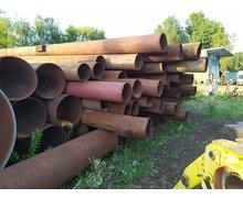 Rury stalowe z demontażu fi 219 x 5,5  - 1,85 / kg - zdjęcie