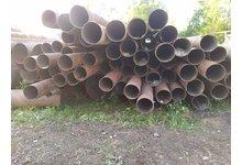 Rury stalowe z demontażu fi 323,9 x 7 i 8 - 1,85 / kg - zdjęcie