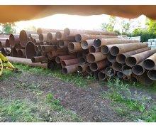 Rury stalowe z demontażu fi 355 x 10 - 1,85 /kg - zdjęcie