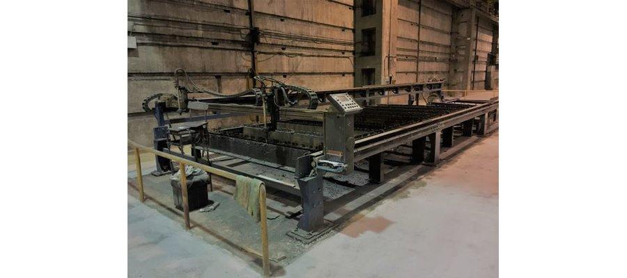 Wypalarka plazmowa do blach CNC sprawna technicznie - zdjęcie