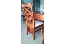 Krzesła z litego drewna brzozowego - zdjęcie