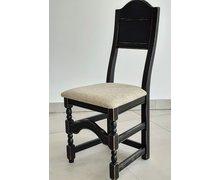 Krzesło z litego drewna bukowego - zdjęcie
