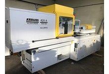 Wtryskarka ARBURG 420A 1000-400 Alldrive / Maszyna elektryczna, energooszczędna, 100 t., 2006 rok - zdjęcie