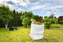Worki na trawe, liście garden-bag - zdjęcie