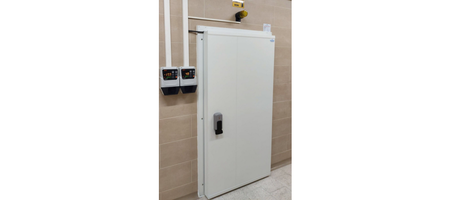 Drzwi chłodnicze - zdjęcie