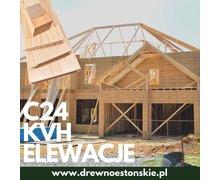 Drewno C24, KVH, elewacje drewniane - zdjęcie