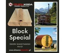 Materiały do budowy saun i balii - zdjęcie