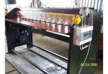 Falowarka - maszyna do usztywniania blach - zdjęcie