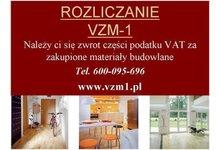 !!!!!!   Zwrot VAT za materiały budowlane   !!!!! /cała Polska/ - zdjęcie
