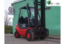 wóze widłowy Linde H25T , 2002rok, LPG , cena netto - zdjęcie