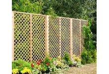 Drewniana kratka ogrodowa Angielska (pergola, płot, ogrodzenie, Jagram) - zdjęcie