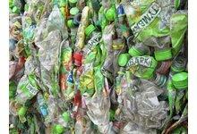 Odpad buteli Tymbark - zdjęcie