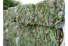 Odpad PET butelki tymbark - zdjęcie