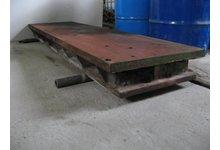 Płyty żeliwne fundamentowe żebrowane pod maszyny - zdjęcie