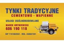 Usługi Tynkarskie: Tynki Maszynowe 'Tradycyjne' Hajnówka-Bielsk Podlaski - zdjęcie