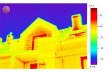 Termowizja w budownictwie i przemyśle, certyfikaty energetyczne - zdjęcie