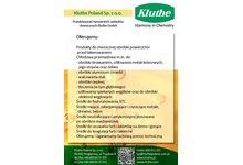 Kluthe GmbH,CNC, chłodziwa, farby, fosforanowanie, KTL, lakiery, odtłuszczanie, odlakierowywanie - zdjęcie