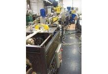 Linia do wytłaczania profili PVC - zdjęcie