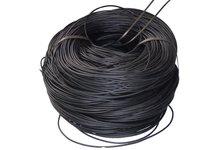 Żyłka polietylenowa (PE), czarna o średnicy 5 mm, plastic rattan, polirattan - zdjęcie
