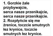 Godzinki o Męce Pańskiej oraz Gorzkie Żale - slajdy, teksty pieśni do projektorów multimedialnych - zdjęcie