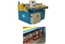 Maszyna do poprzecznego i  wzdłużnego cięcia blachy  Urządzenie do wzdłużnego i poprzecznego rozcinania blach - zdjęcie
