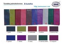 Torebki prezentowe jednokolorowe laminat mat, różne rozmiary, mix kolorów od IMPORTERA - zdjęcie