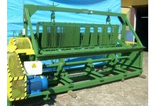 Maszyna do produkcji siatki krepowanej z drutu - zdjęcie