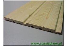 Podbitka boazeria drewniana suszona certyfikowana wysoka jakość - zdjęcie