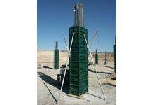 Szalunki Słupowe Kompletne 3mx0,50m-Szybki montaż-Promocja - zdjęcie