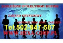 Kupimy spółkę/firmę nawet zadłużoną tel.502-847-587 - zdjęcie