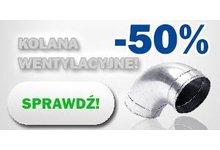 -50% na kolana wentylacyjne - zdjęcie