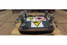 Płyta magnetyczna - separator - zdjęcie