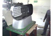 Forma do termoformierki na gondole do wózków dziecięcych - zdjęcie