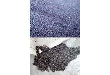 Regranulat LDPE na wtrysk i rozdmuch kolor czarny i niebieski - zdjęcie