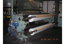 Linia technologiczna do produkcji folii wielowarstwowej metodą rozdmuchu. - zdjęcie