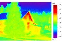 Termowizja Termografia pomiary budynków oraz inne. - zdjęcie