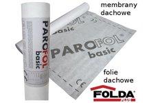 Membrana dachowa PAROFOL basic 100g/m2 - 1,5m x 50m - zdjęcie
