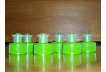Nakrętki PULL PUSH na butelki z gwintem fi 28 - zdjęcie