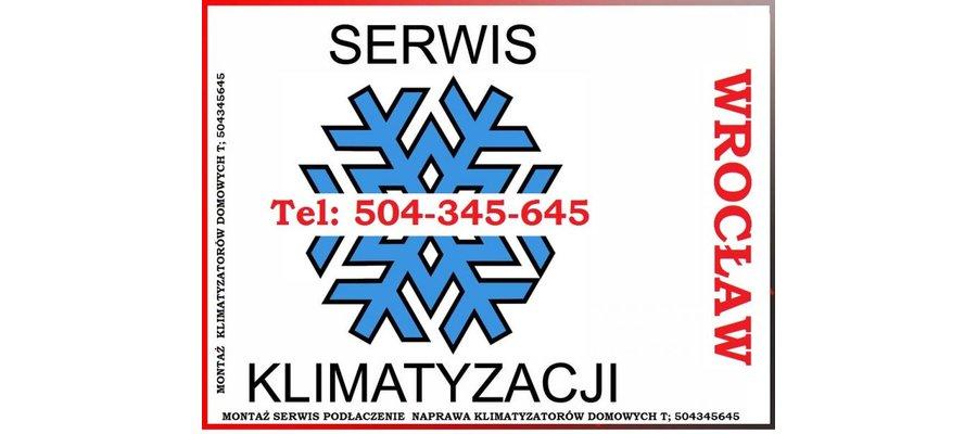 Klimatyzacja Wrocław Sprzedaż, Montaż Serwis Podłączenie Klimatyzacji - zdjęcie
