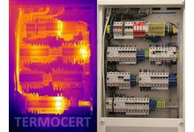 Badanie termowizyjne rozdzielni elektrycznych - zdjęcie