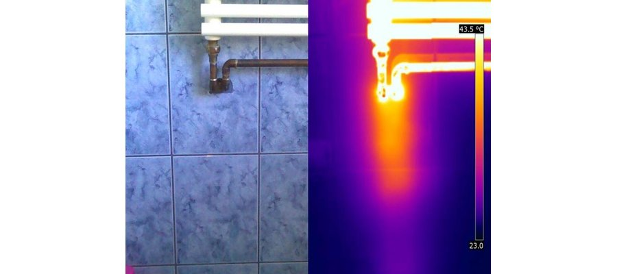 Wycieki wody z instalacji - zdjęcie